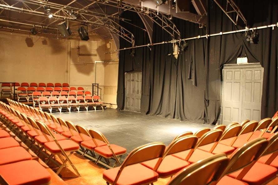 The auditorium at Theatro Technis