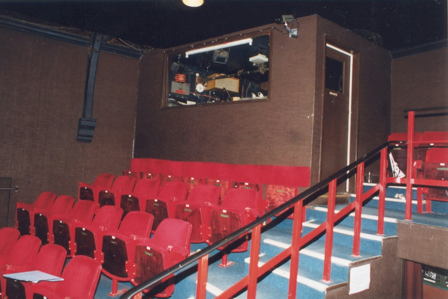 The auditorium of the Canonbury Tower Theatre