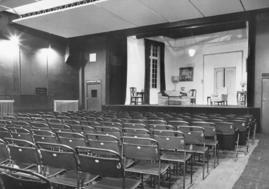 The original auditorium at Canonbury