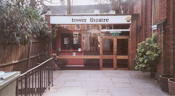The Canonbury Tower Theatre foyer