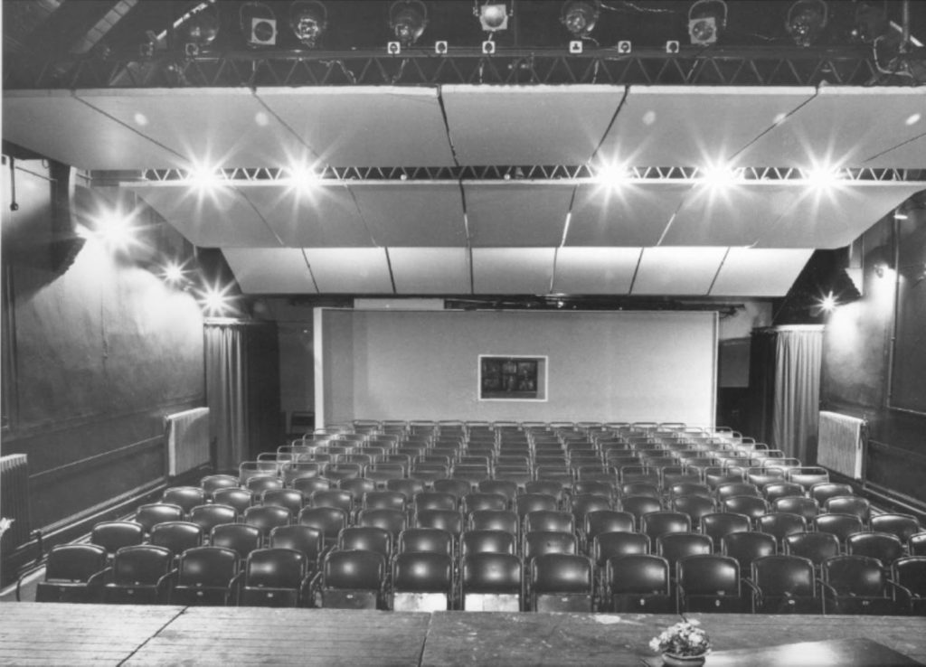Another view of the original theatre in Canonbury before the auditorium was raked